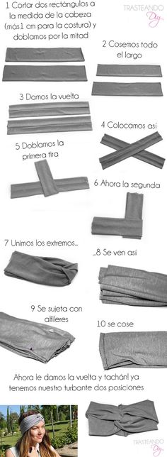 TURBANTE DIY