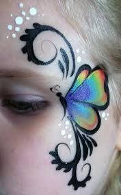 Image result for easy face painting designs step by step #facepaintingideasforadults #stepbystepfacepainting
