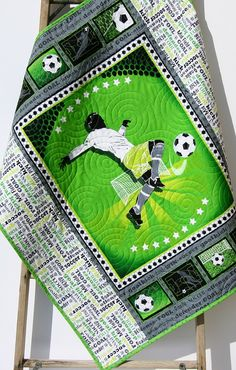 Your place to buy and sell all things handmade Quilt Baby, Boy Quilts, Flag Quilt, Quilt Blocks, Boho Nursery, Girl Bedding, Nursery Decor, Soccer Baby