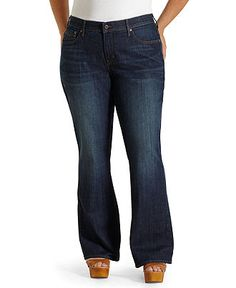 Levi's Plus Size Jeans, 525 Perfect Waist Bootcut Oceana Wash - Plus Size Jeans - Plus Sizes - Macy's