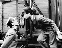"""From """"Closely Watched Trains"""" (Ostře sledované vlaky), 1966, a film by Jiří Menzel based on a Bohumil Hrabal novel."""