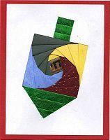 Iris Folding @ CircleOfCrafters.com: Hanukkah Patterns
