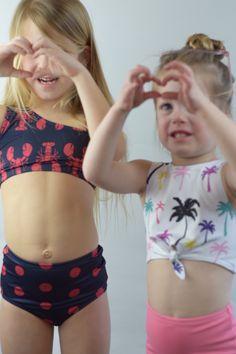 MOIKA Baby Girls Swimsuit Summer Kids Baby Girl Bow Ruffles Floral Print Swimwear Beach Swimming Bikini Romper Jumpsuit 12Months-6Years Black