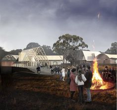 'The Lodge on the Lake' Competition Entry / Stephen Collier Architects