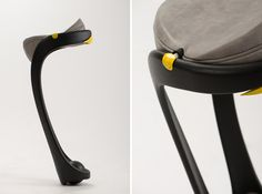In the Details: The Rotating Saddle Seat of Dor Ohrenstein's Opus Chair - Core77