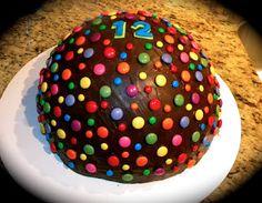 How To Make A Dome Pinata Cake