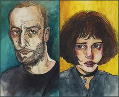 films, leon, leon the professional, mathilda, sevginin gücü Sunflower Wallpaper, New Wallpaper, Art Inspo, Watercolor Paintings, Watercolour, Fantasy Art, Art Drawings, Illustration Art, Sketches
