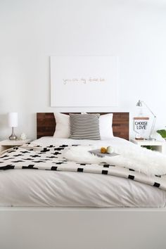 Bed head - Tiber and add white frame around