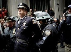 The retired detective Ray Lewis is arrested for his participation in demonstration Occupy Wall Street in 2011...