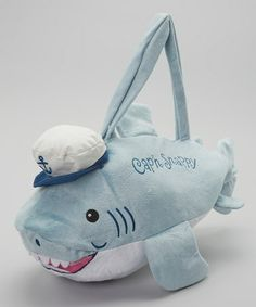 Look what I found on #zulily! Blue Cap'n Snappy Duffel Bag #zulilyfinds  Little guys need a place to put stuff, too. 12.99