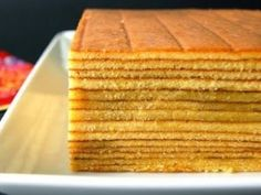 Very rich, buttery, and sweet....this layer cake is very special that you will never get enough....let's check the recipe out, and you will find out how 'SPECIAL' it is...