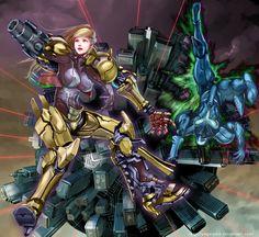 METROID PRIME by ~yagatama on deviantART