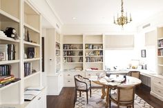 """""""James Patterson's Office at his home in Palm Beach."""""""
