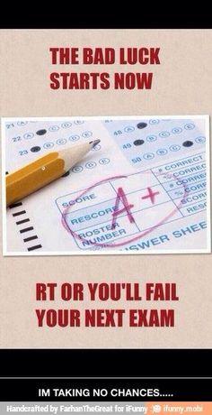 No chances taken