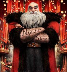 Tattooed Santa :)