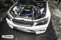 White noise: Remo Grand's turbocharged Altezza — The Motorhood Lexus 300, Performance Cars, Trd, Fuel Economy, The Struts, Toyota, Vehicles, Ideas, Luxury Cars