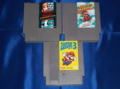 NES Super Mario Bros. 1, 2, and 3! FREE SHIPPING!