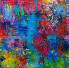 mixed media artwork | Sweet Caramel | Ugallery Online Art Gallery