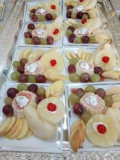 Easy Desserts, Delicious Desserts, Yummy Food, Dressing For Fruit Salad, Candy Cane Cookies, Oreo Cheesecake, Healthy Salad Recipes, Food Presentation, Food Plating