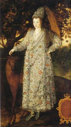 Believed to be Frances Walsingham, daughter of Francis Walsingham and wife of Richard Devereux, Earl of Essex