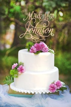 """""""Thanks so much for the cake topper. It is absolutely beautiful, perfect!"""""""