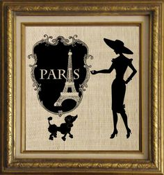 Paris Picture Frame Image