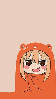 ''Sats Umaru Chan'' sticker on version) plane. Himouto Umaru Chan, Umaru Chan Gif, Anime Shojo, Anime Manga, Anime Art, Kawaii Chibi, Kawaii Anime, Tokyo Ghoul, Tamako Love Story