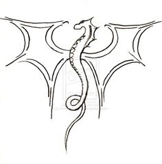 drawing dragon drawings sketches mythical easy creatures pencil dragons simple cool sketch amazing draw animal poses