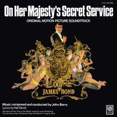 James Bond - On Her Majesty's Secret Service: Original Motion Picture Soundtrack on Limited Edition  180g LP