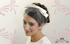 Image result for bridal millinery