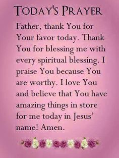 All Praise to God my Heavenly Father- who provides all things faithfully and in Love! Prayer Scriptures, Faith Prayer, God Prayer, Power Of Prayer, Prayer Quotes, Bible Verses Quotes, Scripture Verses, Good Morning Prayer, Morning Prayers