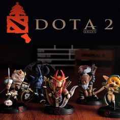 All Styles Full Collections DOTA 2 Kunkka Lina Pudge Queen Tidehunter PVC Action Game Figures //Price: $13.68 & FREE Shipping //     #actionfigurecollectors