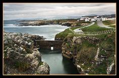 Rinlo, pequeño pueblo pesquero de la provincia de Lugo, Galicia, Spain.