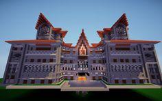 Minecraft Beautiful Fort