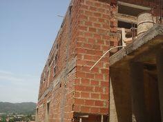 Formando la fachada de la vivienda