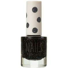 Junior Women's Topshop Glitter Nail Polish (15 CAD) ❤ liked on Polyvore featuring beauty products, nail care, nail polish, nails, makeup, beauty, topshop, topshop nail polish и glitter nail polish