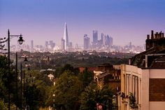 London skyline. It'll be me taking that picture someday.