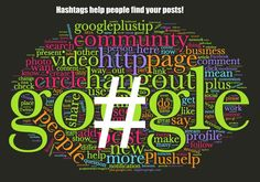Boost your Google+ Hashtags