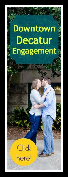 Downtown Decatur Engagement Session.  :) engagement photos, engagement photography, engagement pictures