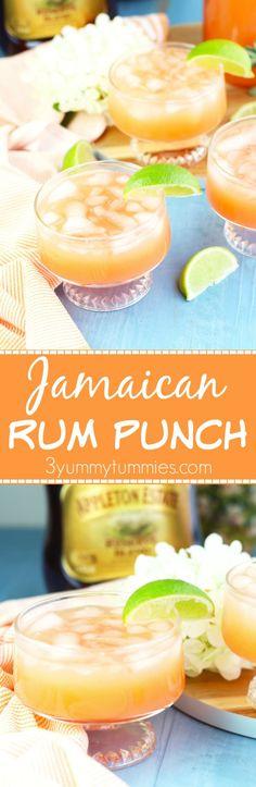 Jamaican Rum Punch Pin