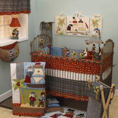 Cotton Tale Pirates Cove 10 Piece Crib Bedding Set & Reviews   Wayfair