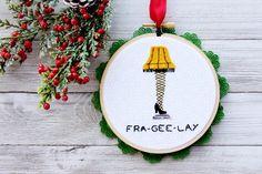 A Christmas Story Leg Lamp Ornament