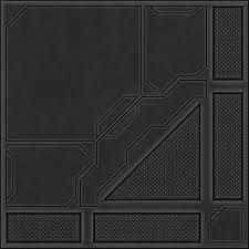 This image can be used for panels that will cover the sci-fi walls across the map.