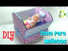 Felt Crafts, Diy Crafts, Barbie Happy Family, Dollhouse Furniture, Baby Toys, Cribs, Origami, Toddler Bed, Nursery