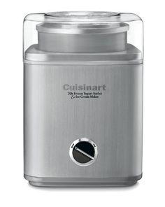 Cuisinart ICE-30BC Pure Indulgence 2-Quart Automatic Frozen Yogurt, Sorbet, and Ice Cream Maker by Cuisinart. $71.33