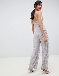 Find the best selection of ASOS EDITION fringe & pearl embellished jumpsuit with wide leg. Shop today with free delivery and returns (Ts&Cs apply) with ASOS! Embellished Jumpsuit, Occasion Wear, Discount Shopping, Bridal Collection, Wide Leg, Fashion Online, Fitness Models, Curves, Asos