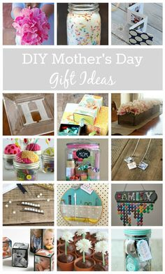 35 Favorite DIY Mother's Day Gifts: Whether she's into beauty, crafting, decor, or just spending quality time with you, there's something you can create to show her you love her!