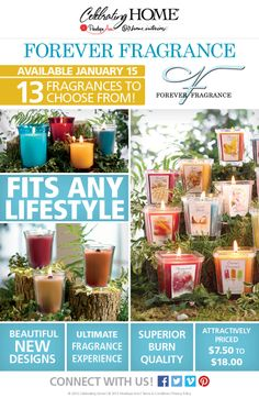 #NEWCANDLES are Here Click www.celebratinghome.com/sites/56185012
