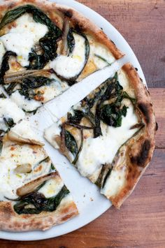 MARC VETRI'S RAMP RICOTTA PIZZA [Marc Vetri] [lifeandthyme] [project inspiration, image only]