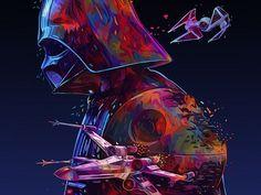 gfx.mob Star Wars Poster by @kaneda99 | dribbble.com/kaneda99 . . . #logo #logodesign #branding #brandidentity #graphicdesign #graphicdesigner #creative #instagood #picoftheday #designinspiration #creativity #brandlogo #greatlogo #designer #design #brand #illustrator #illustration #photoshop #adobe #photooftheday #gfxmob…